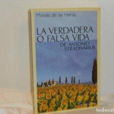 Libros de segunda mano: LA VERDADERA O FALSA VIDA DE ANTONIO STRADIVARIUS, MOISÉS DE LAS HERAS- TABLA RASA -MUY BUEN ESTADO. Lote 194660342
