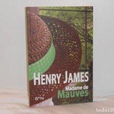 Libros de segunda mano: HENRY JAMES, MADAME DE MAUVES-SIETE NOCHES- MBE. Lote 194661490