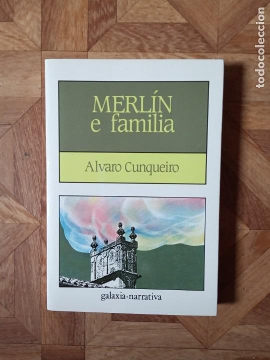 ÁLVARO CUNQUEIRO - MERLÍN E FAMILIA (Libros de Segunda Mano (posteriores a 1936) - Literatura - Otros)