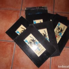 Libros de segunda mano: CUADERNOS TAURINOS 6 CUADERNILLOS, 1985, TODO GRANDES FOTOS, 196 PAGINAS EN TOTAL. Lote 194669386