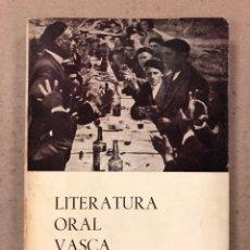 Libros de segunda mano: LITERATURA ORAL VASCA. MANUEL DE LECUONA. COLECCIÓN AUÑAMENDI N° 45 (1965).. Lote 194674413