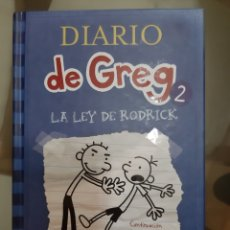 Libros de segunda mano: DIARIO DE GREG, N° 2. Lote 194675405
