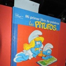 Libros de segunda mano: MI PRIMER LIBRO DE PALABRAS: LOS PITUFOS. ED. MEDIALIVE CONTENT. BARCELONA 2008. Lote 194685507