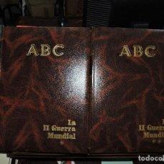 Libros de segunda mano: LA II GUERRA MUNDIAL I Y II. ED. ABC. MADRID 1958. Lote 194687860