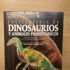Libros de segunda mano: ENCICLOPEDIA DE DINOSAURIOS Y ANIMALES PREHISTÓRICOS. PLAZA JANES & TUSQUETS. Lote 194688257