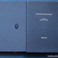 Libros de segunda mano: INDUMENTARIA POPULAR EN ASTURIAS - LUIS ARGÜELLES / PELAYO ORTEGA - GH EDICIONES 1985. Lote 194691190