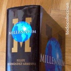 Libros de segunda mano: MILLENIUM. UNA HISTORIA DE NUESTROS ÚLTIMOS MIL AÑOS.FELIPE FERNÁNDEZ-ARMESTO. Lote 194692391