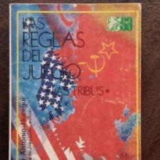 Libros de segunda mano: JOSÉ ANTONIO JÁUREGUI: LAS REGLAS DEL JUEGO. LAS TRIBUS. Lote 194693616
