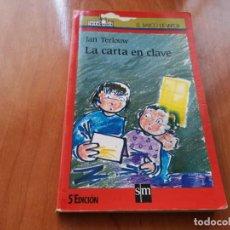 Libros de segunda mano: LA CARTA EN CLAVE JAN TERLOUW EL VARCO DE VAPOR N°60 1993. Lote 194703422