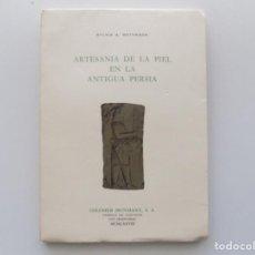 Libros de segunda mano: LIBRERIA GHOTICA. SYLVIA A. MATHESON .ARTESANIA DE LA PIEL EN LA ANTIGUA PERSIA.1978. ILUSTRADO.. Lote 194709588