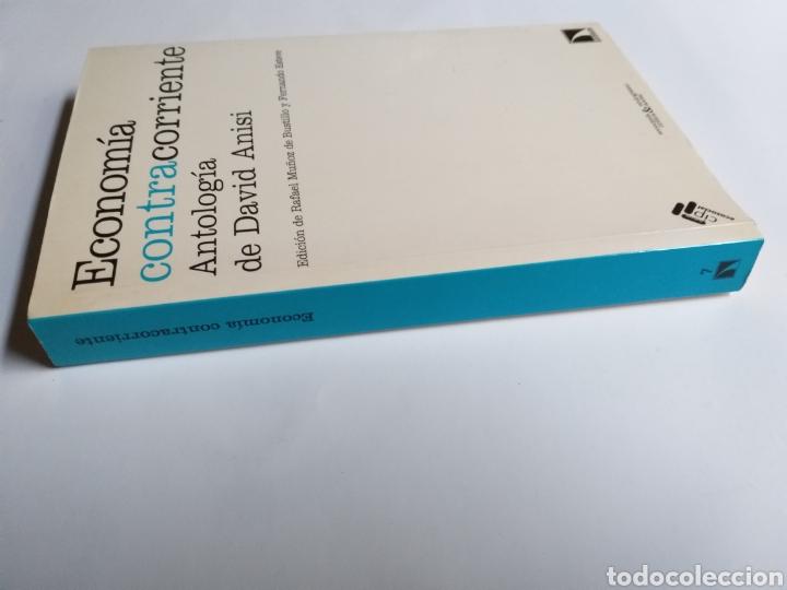 Libros de segunda mano: Economía contracorriente . Antología de David Anisi .2010 . . . ....Pensamiento siglo XXI - Foto 2 - 194712897