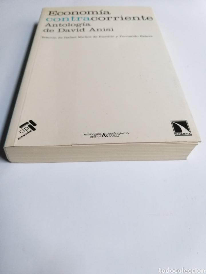 Libros de segunda mano: Economía contracorriente . Antología de David Anisi .2010 . . . ....Pensamiento siglo XXI - Foto 3 - 194712897