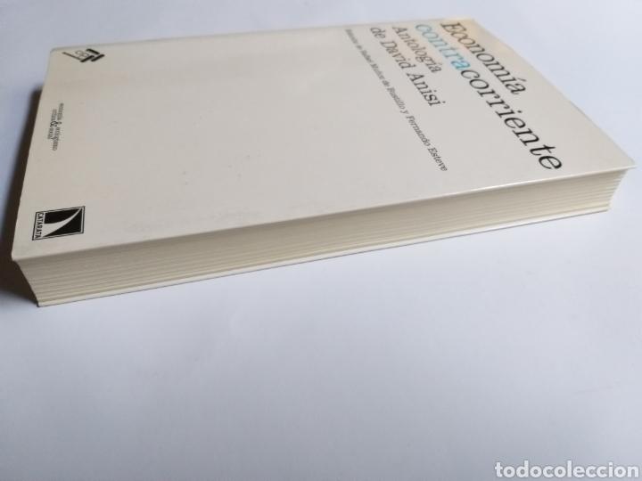 Libros de segunda mano: Economía contracorriente . Antología de David Anisi .2010 . . . ....Pensamiento siglo XXI - Foto 4 - 194712897