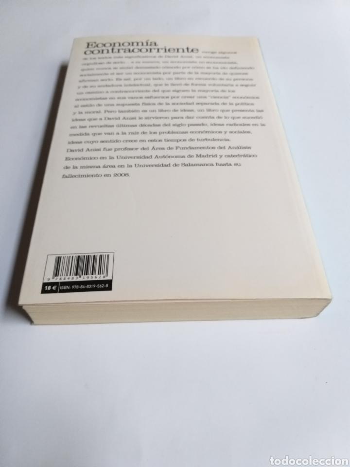 Libros de segunda mano: Economía contracorriente . Antología de David Anisi .2010 . . . ....Pensamiento siglo XXI - Foto 5 - 194712897