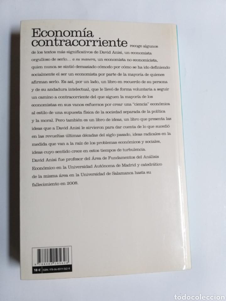 Libros de segunda mano: Economía contracorriente . Antología de David Anisi .2010 . . . ....Pensamiento siglo XXI - Foto 6 - 194712897