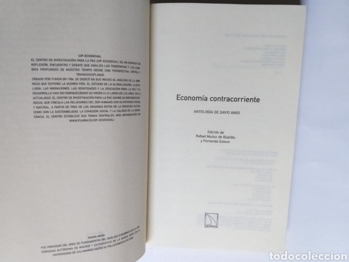 Libros de segunda mano: Economía contracorriente . Antología de David Anisi .2010 . . . ....Pensamiento siglo XXI - Foto 7 - 194712897
