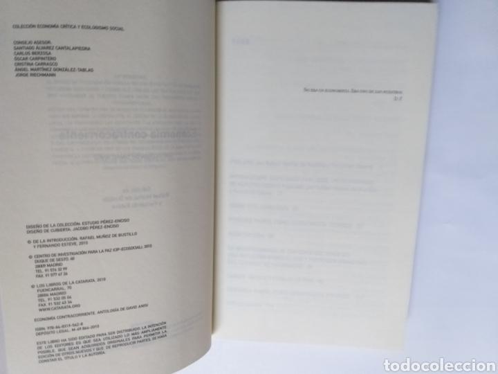 Libros de segunda mano: Economía contracorriente . Antología de David Anisi .2010 . . . ....Pensamiento siglo XXI - Foto 8 - 194712897