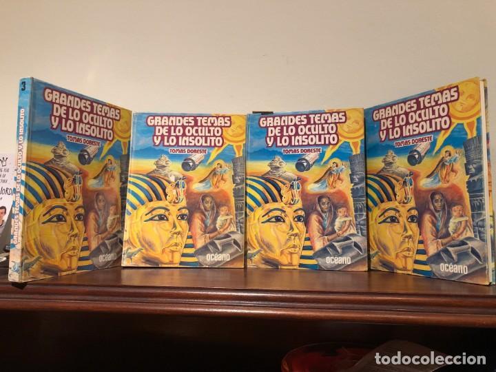 GRANDES TEMAS DE LO OCULTO Y LO INSÓLITO. TOPMÁS DORESTES. EDICIONES OCÉANO. 4 VOLÚMENES. (Libros de Segunda Mano - Parapsicología y Esoterismo - Otros)
