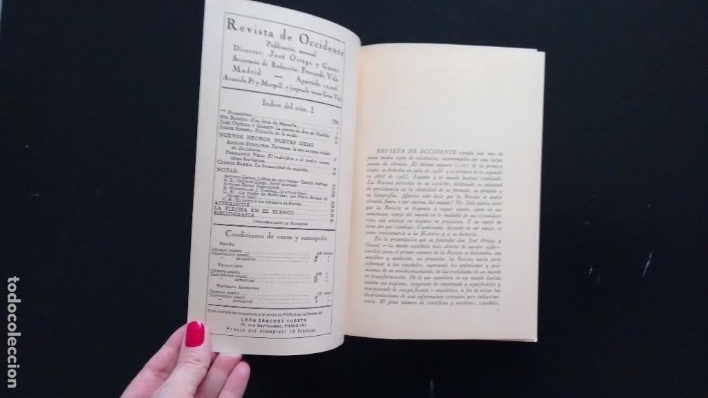 Libros de segunda mano: REVISTA DE OCCIDENTE. EDICIÓN FACSÍMIL DEL Nº 1 DE REVISTA DE OCCIDENTE. JULIO 1923 - JULIO 1973 - Foto 5 - 194716237