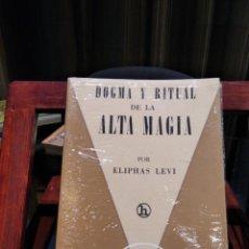 Libros de segunda mano: ELIPHAS LEVI-DOGMA Y RITUAL DE LA ALTA MAGIA EDITORIAL KIER 1977-MUY BUEN ESTADO. Lote 194716915