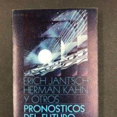 Libros de segunda mano: PRONOSTICOS DEL FUTURO - E. JANTSCH Y H. KAHN - Nº255 ALIANZA EDITORIAL 1ª ED. 1970. Lote 194720288