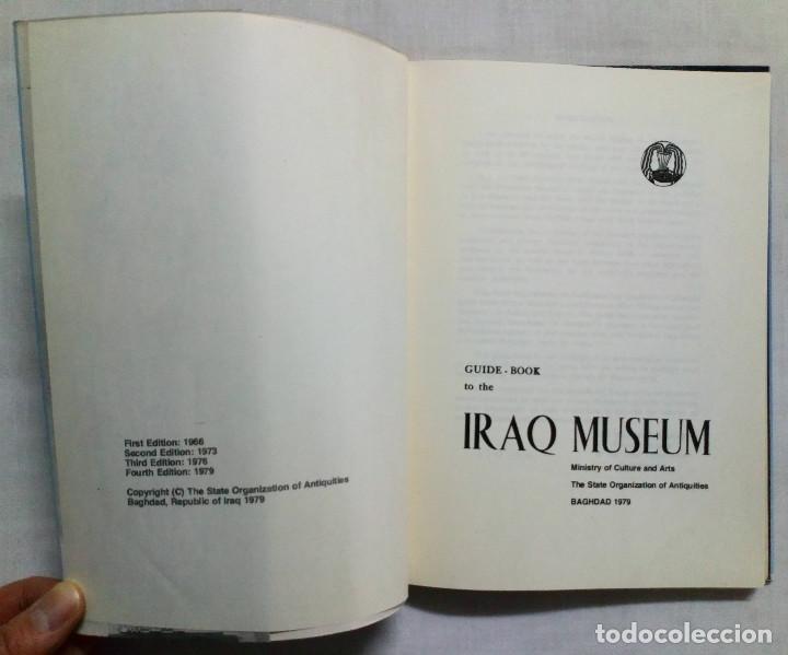 Libros de segunda mano: GUIDE – BOOK TO THE IRAK MUSEUM. 1979. - Foto 2 - 194725321