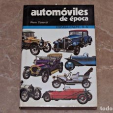Libros de segunda mano: AUTÓMOVILES DE ÉPOCA - PIERO CASUCCI - ESPASA - CALPE. Lote 194729018