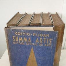 Libros de segunda mano: HISTORIA GENERAL DEL ARTE SUMMA ARTIS. Lote 194729958