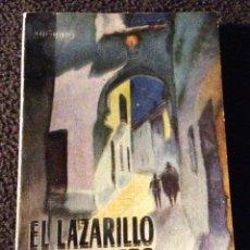 Libros de segunda mano: MINILIBRO ENCICLOPEDIA PULGA. Nº- 285. EL LAZARILLO DE TORMES. ANONIMO. Lote 194730636