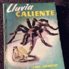 Libros de segunda mano: MINILIBRO ENCICLOPEDIA PULGA. Nº- 451. LLUVIA CALIENTE. TOMAS SALVADOR. Lote 194730703