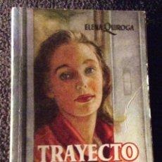 Libros de segunda mano: MINILIBRO ENCICLOPEDIA PULGA. Nº- 255. TRAYECTO UNICO. ELENA QUIROGA. Lote 194730851
