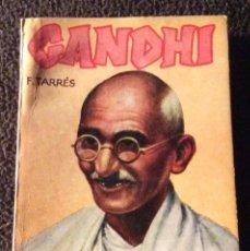 Libros de segunda mano: MINILIBRO ENCICLOPEDIA PULGA. Nº- 487. GANDHI. F. TARRES. Lote 194730958