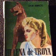 Libros de segunda mano: MINILIBRO ENCICLOPEDIA PULGA. Nº- 216. HELENA DE TROYA. LEON IGNACIO. Lote 194731151
