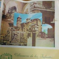 Libros de segunda mano: VILLANUEVA DE LOS INFANTES FERIAS Y FIESTAS 1975. Lote 194731335