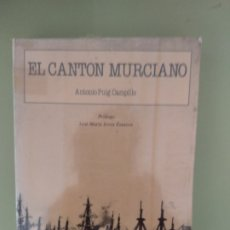 Libros de segunda mano: EL CANTÓN MURCIANO (1986). Lote 194732705