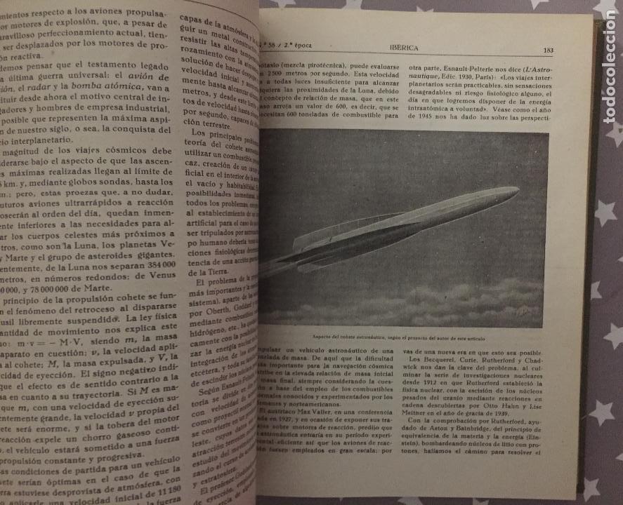 Libros de segunda mano: REVISTA IBERICA, Año 2, Tomo 3, 1946 Primer Semestre - Foto 2 - 194736725