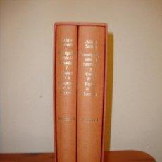 Libros de segunda mano: INVESTIGACIÓN SOBRE LA NATURALEZA Y CAUSAS DE LA RIQUEZA DE LAS NACIONES - ADAM SMITH - OIKOS-TAU. Lote 194736893