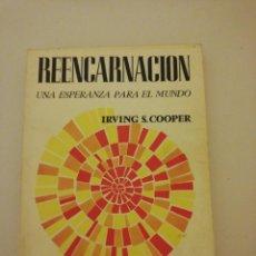 Libros de segunda mano: IRVING S. COOPER, REENCARNACIÓN . Lote 194744165