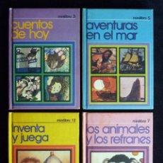 Libros de segunda mano: COLECCIÓN MINILIBROS ESCO. LOTE DE 4. NÚMEROS 3, 5, 7 Y 12. AÑO 1979. Lote 194747666
