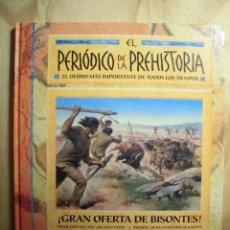 Libros de segunda mano: EL PERIÓDICO DE LA PREHISTORIA EDICIONES B (1999). Lote 194751050