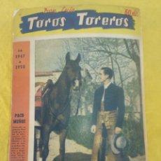Libros de segunda mano: DON LUIS LIBRO DE TOROS Y TORREROS.. Lote 194756351