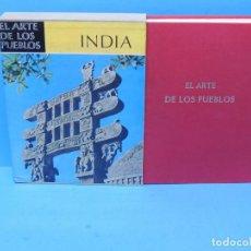Libros de segunda mano: EL ARTE DE LOS PUEBLOS : LA INDIA .- HERMANN GOETZ. Lote 194758083