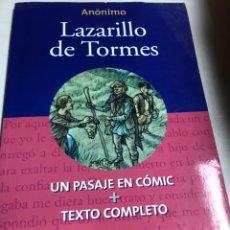 Libros de segunda mano: LIBRO - LAZARILLO DE TORMES - ANONIMO. Lote 194764153