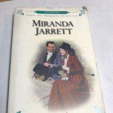 Libros de segunda mano: LIBRO - MIRANDA JARRET - EL CABALLERO DE NEGRO. Lote 194768245