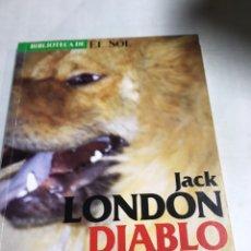 Libros de segunda mano: LIBRO - JACK - LONDON - DIABLO. Lote 194775863