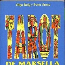 Livros em segunda mão: TAROT DE MARSELLA SUPER FÁCIL (LIBRO). VIDENCIA, SABIDURÍA Y PODER. UNA GUÍA PRÁCTICA E IMPRESCINDIB. Lote 194795610