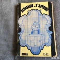 Libros de segunda mano: ALMANAQUE DE SANTO ANTÓNIO, 1942. ENVIO GRÁTIS.. Lote 194859547