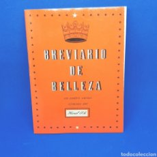 Libros de segunda mano: (ER.00) BREVIARIO DE BELLEZA. HAMOL S.A.. Lote 194860163