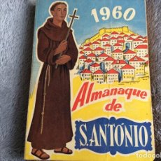 Libros de segunda mano: ALMANAQUE SANTO ANTÓNIO, 1960. ENVIO GRÁTIS.. Lote 194860346