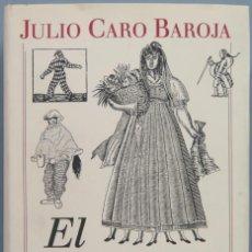 Libros de segunda mano: EL CARNAVAL. JULIO CARO BAROJA . Lote 194863181